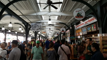 Inside the French Market